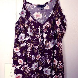 American Eagle Floral Tank Top
